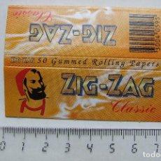 Papel para cigarros: PAPEL DE FUMAR ZIG-ZAG CLASSIC PEQUEÑO FRANCIA MODELO 2. Lote 184913185