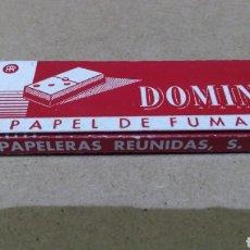 Papel de fumar: PAPEL DE FUMAR DOMINÓ. Lote 186092966