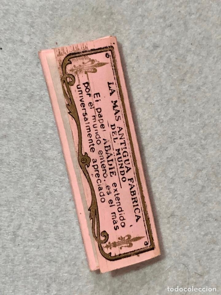 Papel de fumar: 3 paquetes de papelillos Abadie - Foto 2 - 187175413