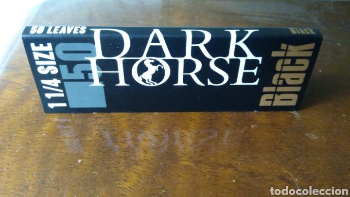 PAPEL DE FUMAR DARK HORSE BLACK (Coleccionismo - Objetos para Fumar - Papel de fumar )