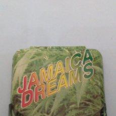Papel de fumar: CAJITA METALICA PARA PAPEL DE FUMAR JAMAICA DREAMS. Lote 191222853