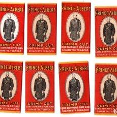 Papel de fumar: PAPEL DE FUMAR 12 FULL PACKETS, PRINCE ALBERT; CIGARETTE ROLLING PAPER. Lote 191275027