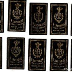 Papel de fumar: PAPEL DE FUMAR 10 FULL PACKETS, OCB; CIGARETTE ROLLING PAPER. Lote 191278170