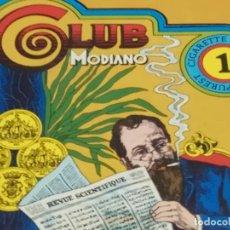 Papel de fumar: CAJA CON 100 LIBRILLOS DE MODIANO. AÑOS 1970,S. Lote 191602240