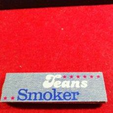 Papel de fumar: LIBRITO PAPEL DE FUMAR * SMOKER JEANS *. Lote 191706550