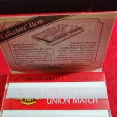 Papel de fumar: LIBRITO PAPEL DE FUMAR* UNION MATCH *. Lote 191708237