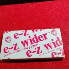 Papel de fumar: LIBRITO PAPEL DE FUMAR *E-Z WIDER *. Lote 191708796
