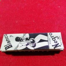 Papel de fumar: LIBRITO DE PAPEL DE FUMAR * BLANCO Y NEGRO *. Lote 191724792