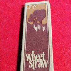 Papel de fumar: LIBRITO DE PAPEL DE FUMAR * WHEET STRAW *. Lote 191727127