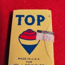 Papel de fumar: LIBRITO DE PAPEL DE FUMAR *TOP * MADE IN USA.. Lote 191730077