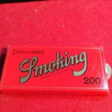 Papel de fumar: LIBRITO DE PAPEL DE FUMAR *SMOKING PAPEL DE ARROZ *. Lote 191732852
