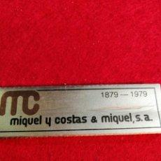 Papel de fumar: LIBRITO DE PAPEL DE FUMAR * MIQUEL COSTAS *. Lote 191733512