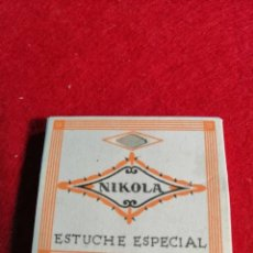 Papel de fumar: LIBRITO DE PAPEL DE FUMAR * NIKOLA *. Lote 191737103