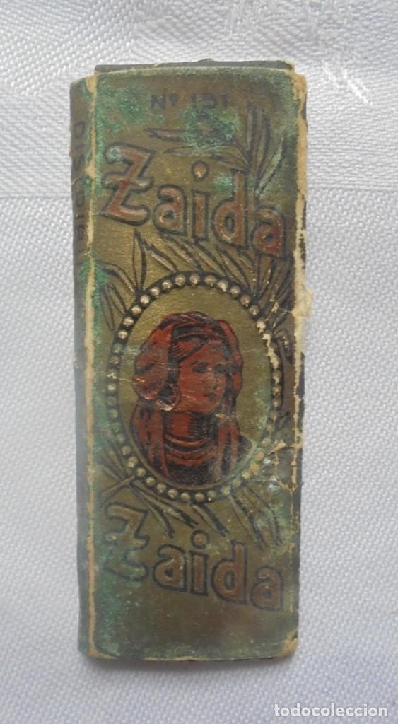 VINTAGE PAPEL DE FUMAR ZAIDA (Coleccionismo - Objetos para Fumar - Papel de fumar )