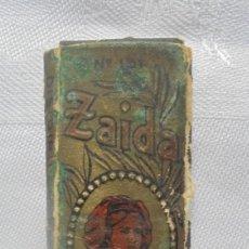 Papel de fumar: VINTAGE PAPEL DE FUMAR ZAIDA. Lote 191741170