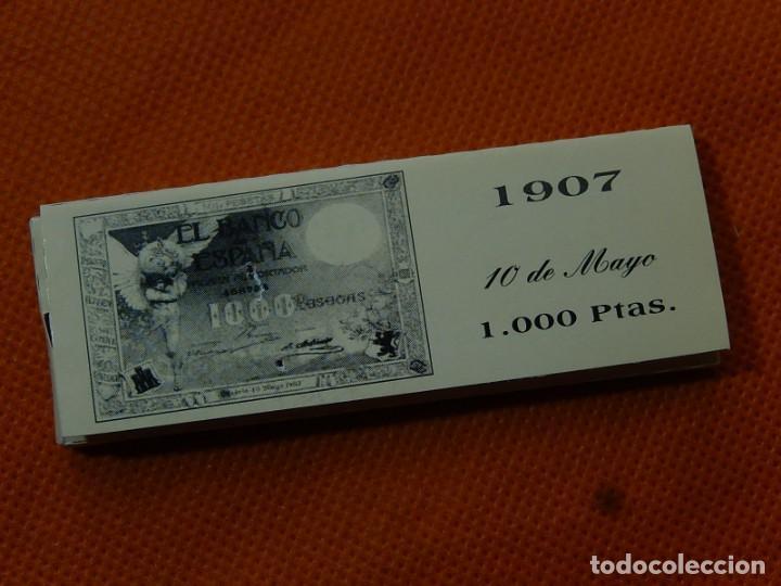 Papel de fumar: 10 libritos de papel de fumar. Billetes antiguos. - Foto 5 - 194337771