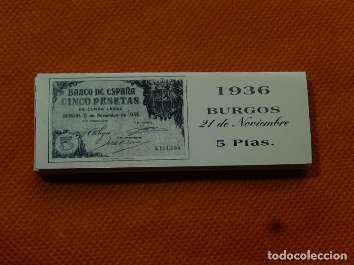 Papel de fumar: 10 libritos de papel de fumar. Billetes antiguos. - Foto 8 - 194337771