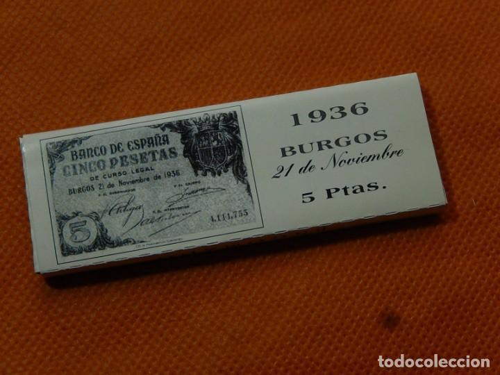 Papel de fumar: 10 libritos de papel de fumar. Billetes antiguos. - Foto 10 - 194337771