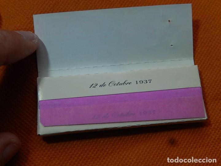 Papel de fumar: 10 libritos de papel de fumar. Billetes antiguos. - Foto 12 - 194337771