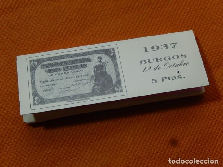 Papel de fumar: 10 libritos de papel de fumar. Billetes antiguos. - Foto 13 - 194337771