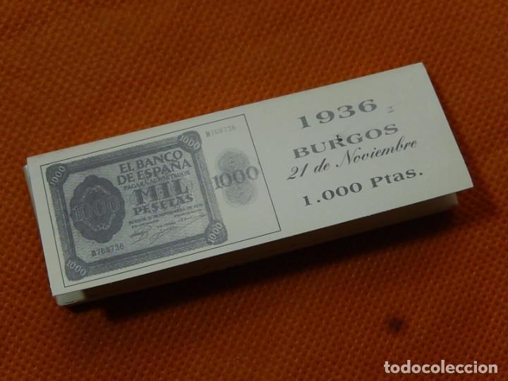 Papel de fumar: 10 libritos de papel de fumar. Billetes antiguos. - Foto 14 - 194337771