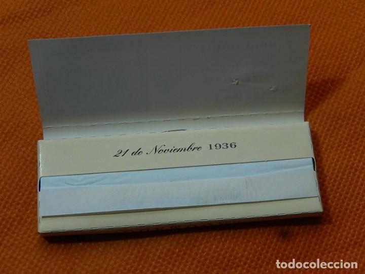 Papel de fumar: 10 libritos de papel de fumar. Billetes antiguos. - Foto 15 - 194337771