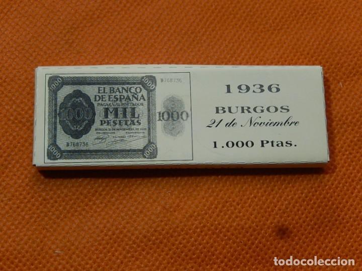 Papel de fumar: 10 libritos de papel de fumar. Billetes antiguos. - Foto 16 - 194337771