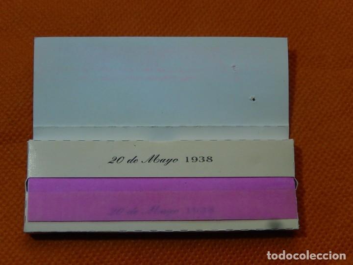 Papel de fumar: 10 libritos de papel de fumar. Billetes antiguos. - Foto 18 - 194337771