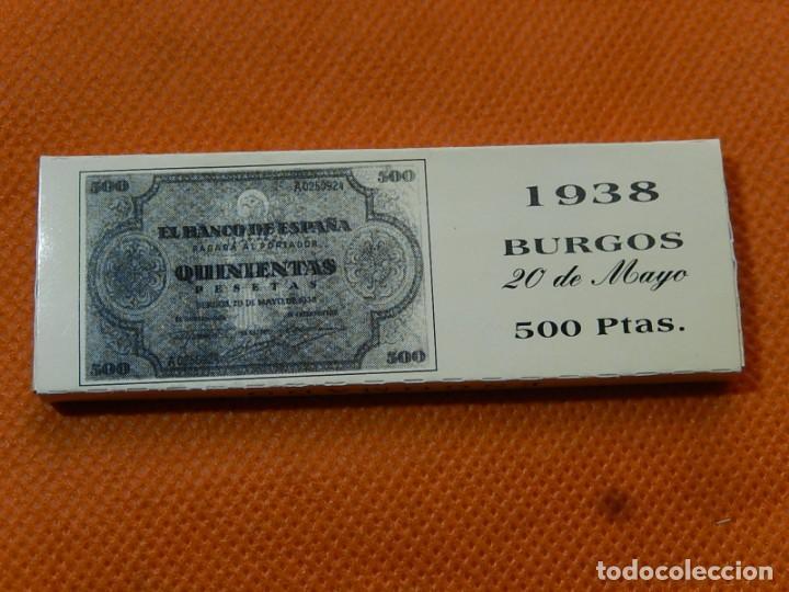 Papel de fumar: 10 libritos de papel de fumar. Billetes antiguos. - Foto 19 - 194337771
