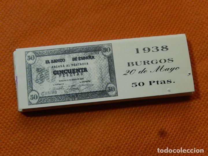 Papel de fumar: 10 libritos de papel de fumar. Billetes antiguos. - Foto 20 - 194337771
