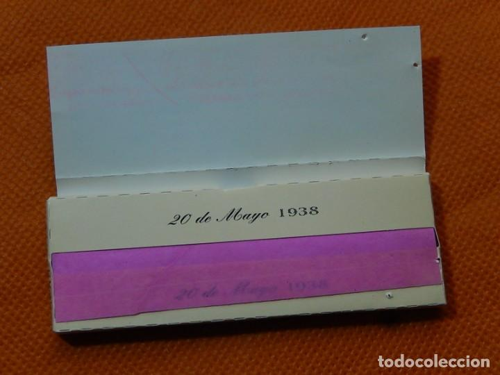 Papel de fumar: 10 libritos de papel de fumar. Billetes antiguos. - Foto 21 - 194337771