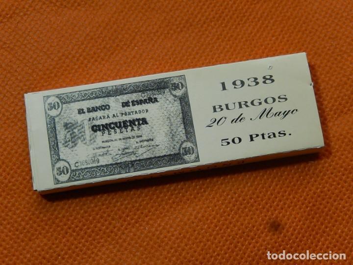 Papel de fumar: 10 libritos de papel de fumar. Billetes antiguos. - Foto 22 - 194337771