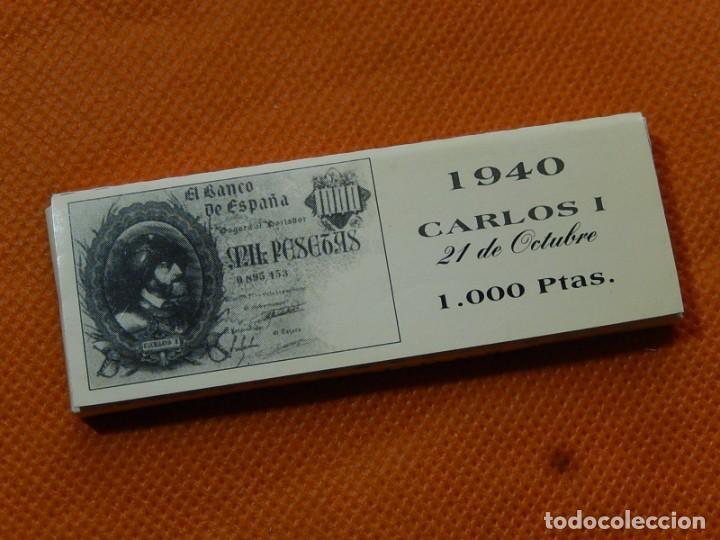 Papel de fumar: 10 libritos de papel de fumar. Billetes antiguos. - Foto 23 - 194337771