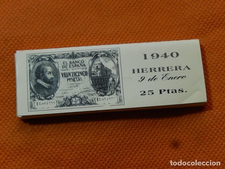Papel de fumar: 10 libritos de papel de fumar. Billetes antiguos. - Foto 26 - 194337771