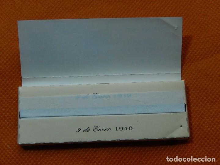 Papel de fumar: 10 libritos de papel de fumar. Billetes antiguos. - Foto 27 - 194337771