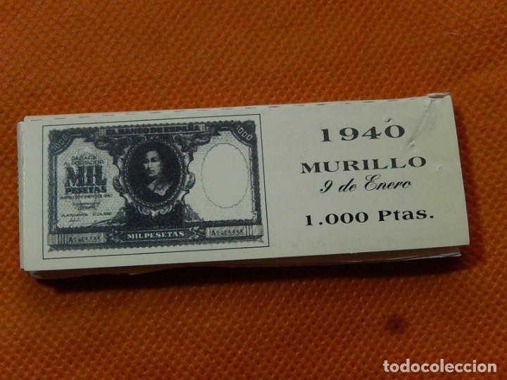 Papel de fumar: 10 libritos de papel de fumar. Billetes antiguos. - Foto 29 - 194337771
