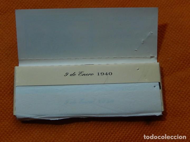 Papel de fumar: 10 libritos de papel de fumar. Billetes antiguos. - Foto 30 - 194337771