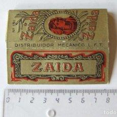 Papel de fumar: PAPEL DE FUMAR ZAIDA Nº 151 DORADO TAMAÑO MEDIANO MADE IN SPAIN LEOPOLDO FERRANDIZ ALCOY. Lote 194685582