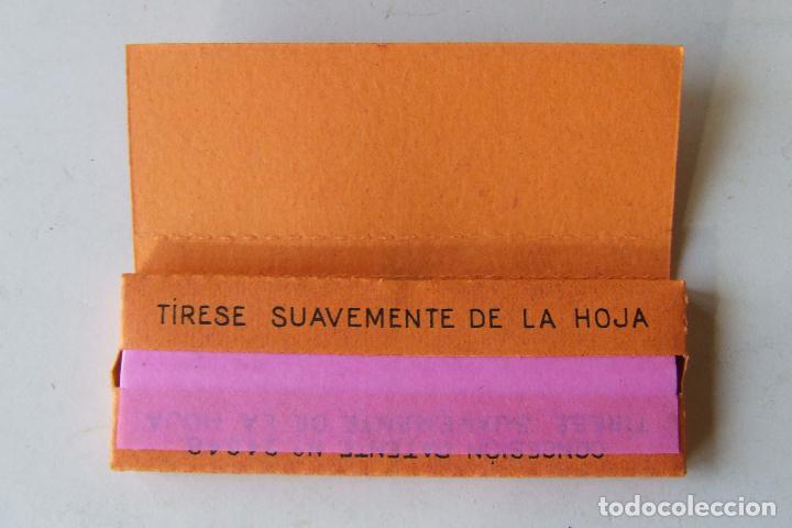Papel de fumar: PAPEL DE FUMAR ZAIDA Nº 150 NARANJA TAMAÑO MEDIANO MADE IN SPAIN LEOPOLDO FERRANDIZ ALCOY - Foto 2 - 194685675