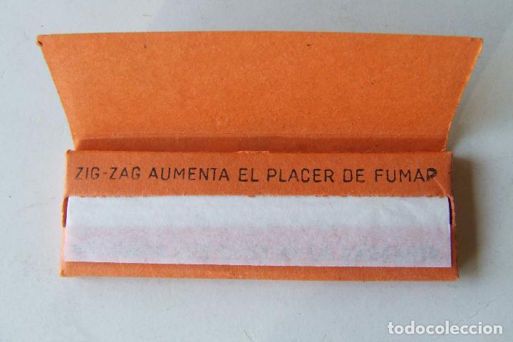 Papel de fumar: PAPEL DE FUMAR ZIG-ZAG Nº 125 NARANJA TAMAÑO MEDIANO MADE IN SPAIN VALLADOLID MODELO 1 - Foto 2 - 194685715