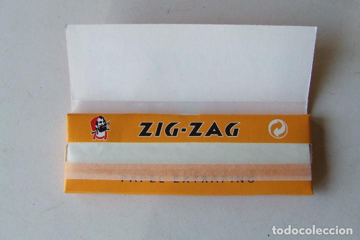 Papel de fumar: PAPEL DE FUMAR ZIG-ZAG NARANJA TAMAÑO MEDIANO MADE IN SPAIN - Foto 2 - 194685980