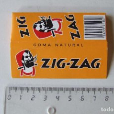 Papel de fumar: PAPEL DE FUMAR ZIG-ZAG NARANJA TAMAÑO MEDIANO MADE IN SPAIN. Lote 194685980