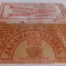 Papel de fumar: PAPEL DE FUMAR JARAMAGO VALADIA ANTIGUO LIBRITO. Lote 195016042