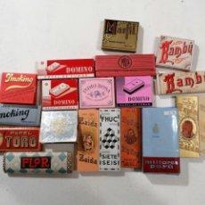 Papel de fumar: LOTE 19 LIBRITOS PAPEL DE FUMAR SIN USAR. Lote 195149853