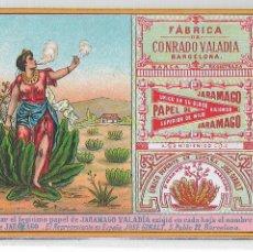 Papel de fumar: PAPEL DE FUMAR - JARAMAGO - CONRADO VALADIA - P30029. Lote 195199961