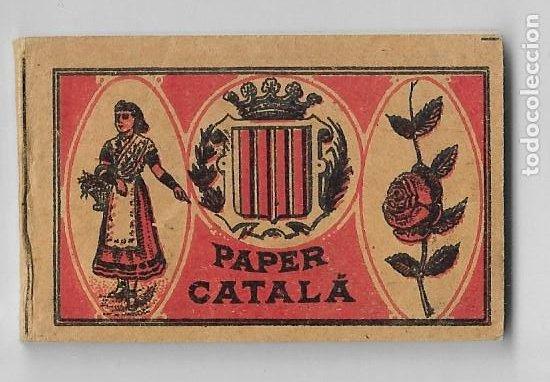 PAPEL DE FUMAR - PAPER CATALÁ - GENARO MARTÍN - BARCELONA - P30030 (Coleccionismo - Objetos para Fumar - Papel de fumar )