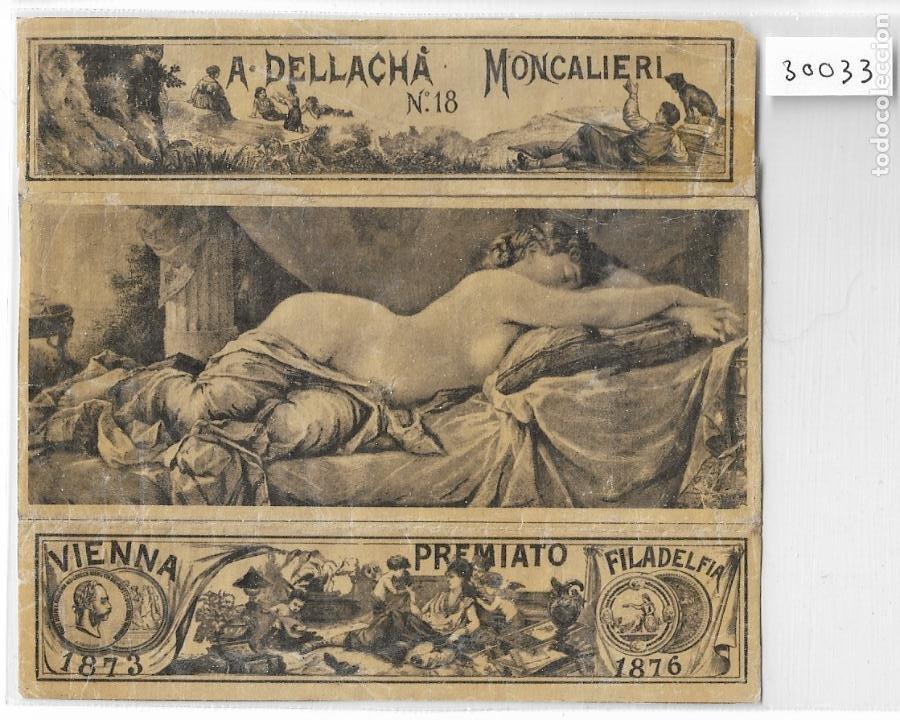 PAPEL DE FUMAR - A. DELLACHÁ - MONCALIERI - P30033 (Coleccionismo - Objetos para Fumar - Papel de fumar )