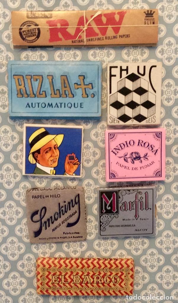 LOTE 8 LIBRITOS DE PAPEL DE FUMAR (Coleccionismo - Objetos para Fumar - Papel de fumar )