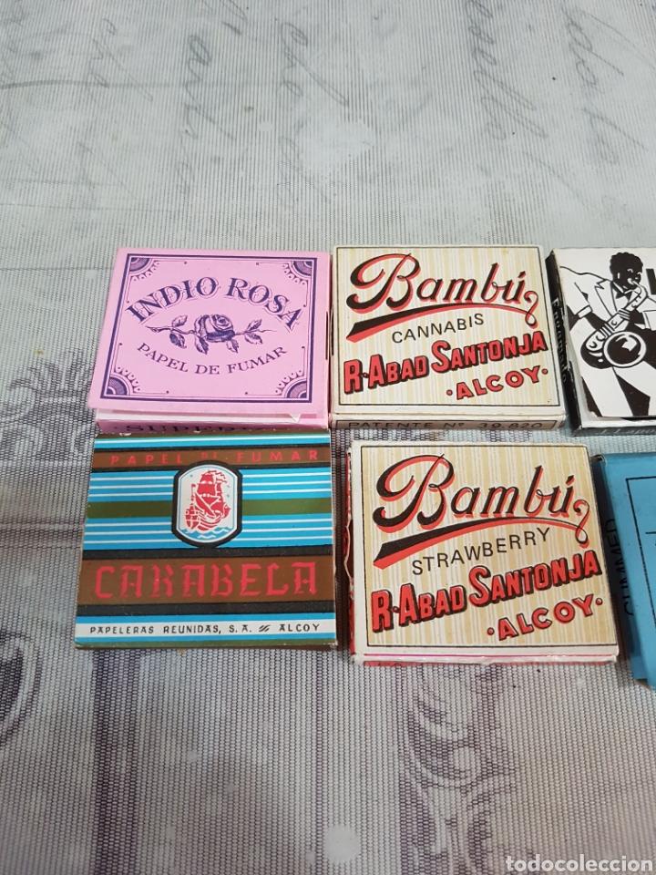 Papel de fumar: LOTE DE 8 LIBRITOS DE PAPEL DE FUMAR - Foto 2 - 195869497