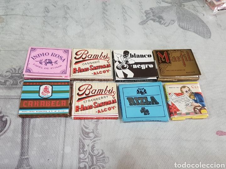 LOTE DE 8 LIBRITOS DE PAPEL DE FUMAR (Coleccionismo - Objetos para Fumar - Papel de fumar )